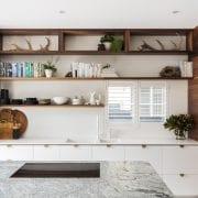 Billi XL Matte White on white kitchen bench